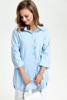 рубашка TEZA 2639 голубой