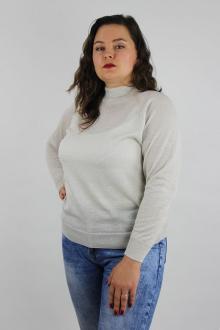свитер Полесье С3533-19 9С0309-Д43 170,176 экрю+серебро