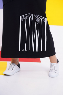 платье GRATTO 8113 черный
