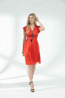 платье Vladini VS923 красный