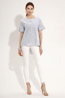 блуза Панда 484040 белый