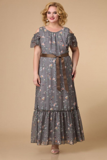 платье Svetlana-Style 1590 темный+цветы