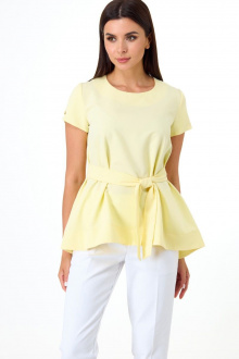 Блуза Anelli 1084 светло-желтый