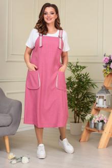 сарафан,  футболка Anastasiya Mak 855 розовый
