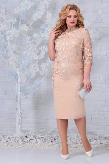 платье Ninele 5753 бежевый