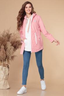 Куртка Линия Л А-1865 розовая_полоска