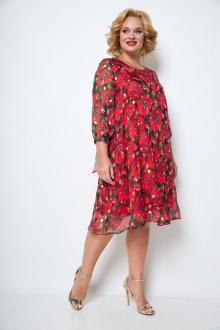 платье Michel chic 2049 красный