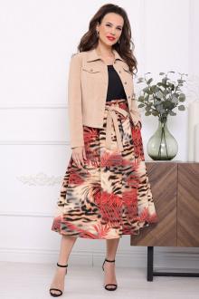 Комплект Мода Юрс 2400 бежево-красный