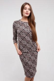 джемпер,  юбка Madech 18706 черный,розовый