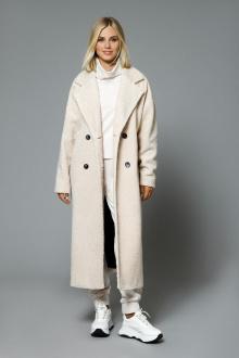пальто DiLiaFashion 0509 светло-бежевый
