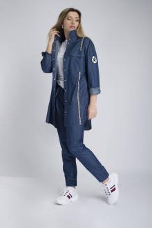 брюки,  рубашка Effect-Style 821 джинсовый
