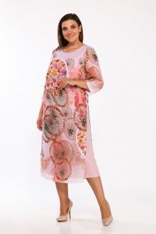 Lady Style Classic 1767/4 розовый+принт