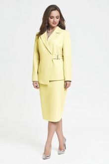 жакет,  юбка TEZA 2399 желтый