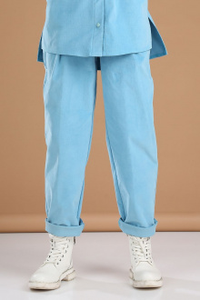 рубашка Viola Style 7040 голубой