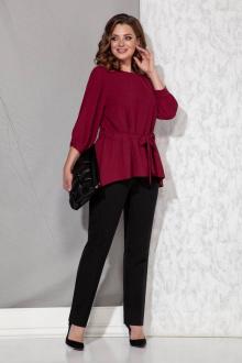 блуза,  брюки Beautiful&Free 3051 марсала