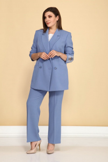 брюки,  жакет ALEZA 1040 голубой