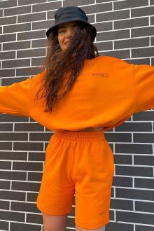 джемпер Rawwwr clothing 282-начес оранжевый