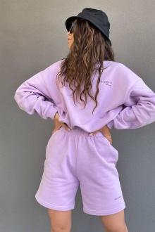 джемпер Rawwwr clothing 282-начес лиловый