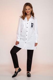 блуза Dilana VIP 1794 белый