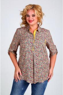 Блуза Таир-Гранд 62274-1 желто-зеленый