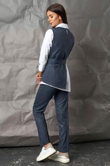 блуза,  брюки,  жилет Mia-Moda 1277
