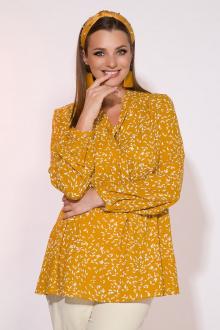 Блуза INPOINT. 042 горчица