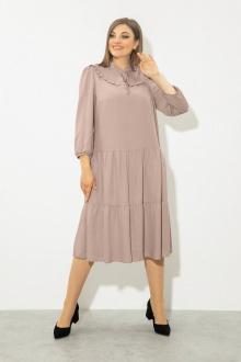 Платье JeRusi 2117 какао