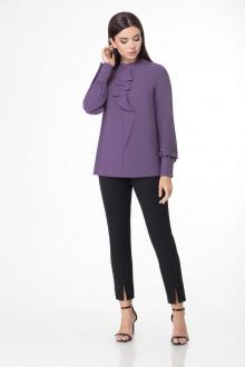 блуза БелЭкспози 1393 пурпурный