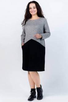 5150 серый-(черный)