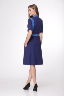 платье AMORI 1698 синий