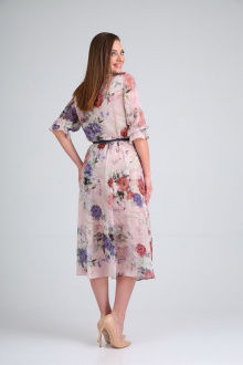 платье AMORI 9532 розовый