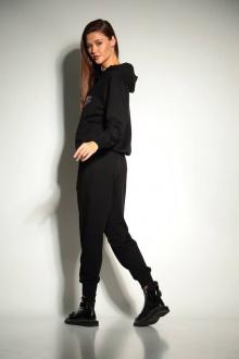 брюки, худи TAiER 945 черный