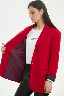 жакет Moveri by Larisa Balunova 1064J красный