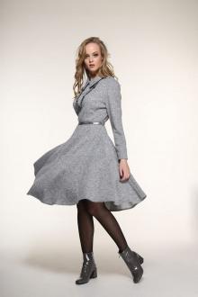 платье AMORI 9330 серый