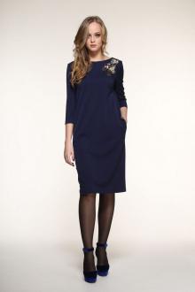 платье AMORI 9334 синий