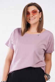 футболка GRATTO 4126 лиловый