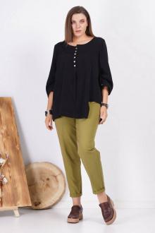 блуза GRATTO 4133 черный
