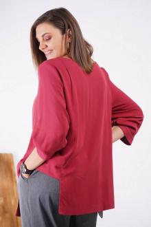 блуза GRATTO 4133 бордовый