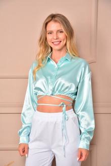блуза LM ПЛ2011 бирюза