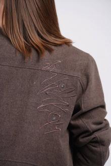 куртка GRATTO 7120 кофейный