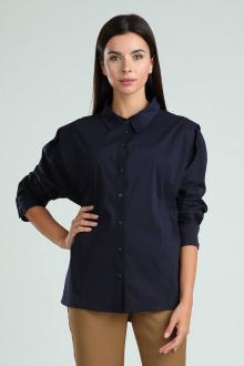 рубашка Viola Style 1130 темно-синий