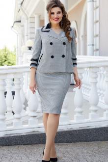 жакет,  юбка Vittoria Queen 14323 гусиная_лапка