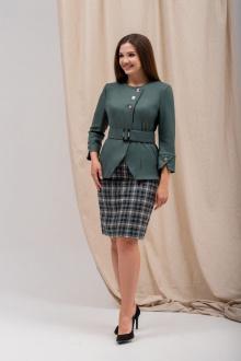жакет,  юбка Angelina 5551 изумруд