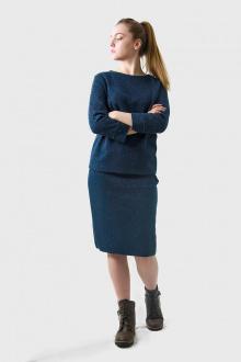 джемпер,  юбка Полесье С0075-18 9С0035-Д43 158,164 т.синий