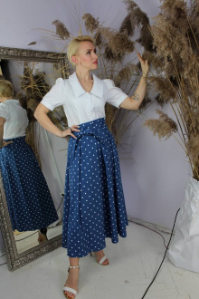 юбка Стильная леди М-111