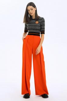брюки LaVeLa L20227 оранжевый
