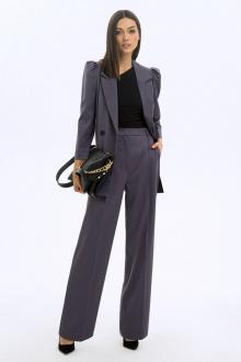 брюки,  жакет LaVeLa L40022 фиолетовый