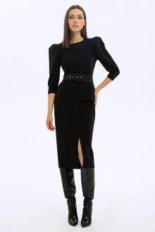 блуза,  юбка LaVeLa L40030 черный