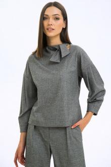 блуза LaVeLa L50138 серый