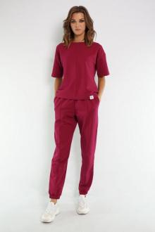 джемпер,  брюки Kivviwear 4036-4037 фуксия